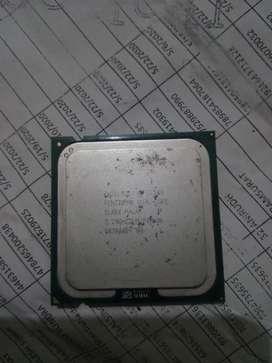 Intel Pentium dual core processor 2.20GHZ