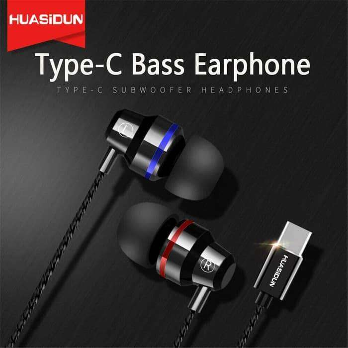 Type C Jack Metal Build G82 3D Bass Headset Game Earphone With Mic 0