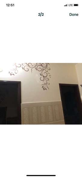 First Floor For Rent Door From Out Side Cantt View Colony