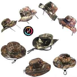 Topi Rimba Jungle Bonnie Hat Camo Import