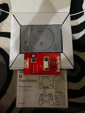 Ps 1 Classic Mini include game