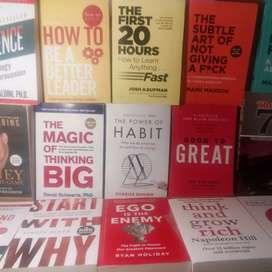 All Self Development Books are Available