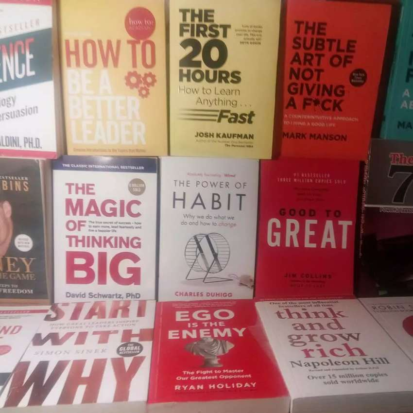 All Self Development Books are Available 0