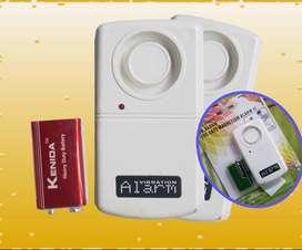 Alarm Rumah / Gudang / Toko Dengan Sistem Sensor Getaran