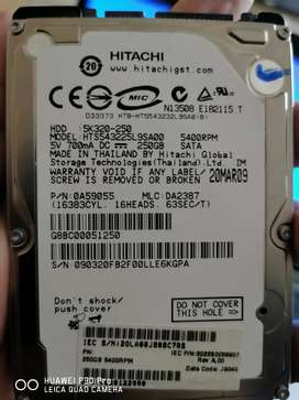 HITACHI 250GB HDD FOR LAPTOP