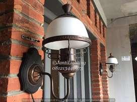Lampu dinding antik kuningan dekorasi lampu tempel lawasan lampu joglo