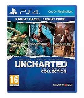 Ps4 UNCHARTED -The Nathan Drake collection