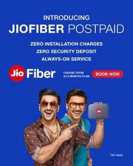Reliance Jio fiber Broadband internet