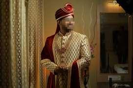 Sherwani set for wedding
