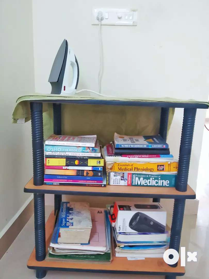 Multipurpose Table for storage  ( foldable and easily assembled ) 0