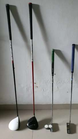Stick Golf 4 Unit + Tas Golf