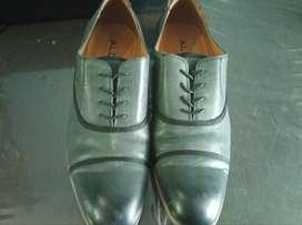 ALDO Formal Shoes (Blue/Brown Detailing)