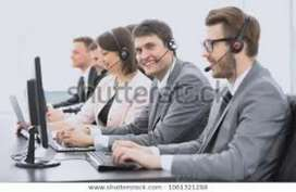 Mans and whomans are required in call center