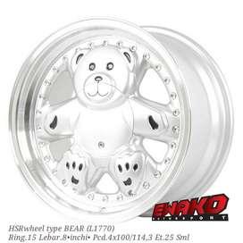 Bear R15 - HSRwheel Makassar Velg Mobil Racing Import