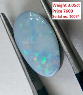 Opal Gemstone with LAB Certificate of Stone