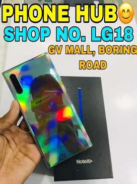 Samsung Galaxy Note 10+ (12/256) Aura Glow Only 1 Months Old Available