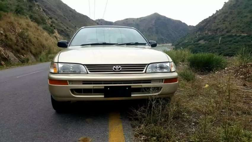 Toyota corolla g 2000 on easy installment in corporate 0