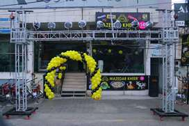 Balloon decoration, Shop opening, Sale Promotion
