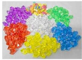 Aquarium crystal jelly stones. high quality