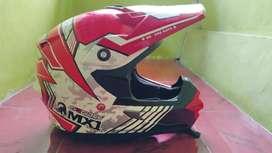CARGLOSS HELMET- Helm Cross Mx1 Second Masih mulus