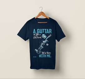 T-Shirt Kaos Band Gitar Gitaris BB KING