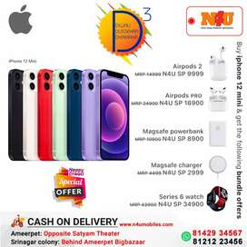 Apple iphone 12 mini now available with loaded bundle offer for Diwali