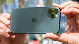 Iphone 11 Pro 64 GB Non PTA (used) in Mid Night Green Color
