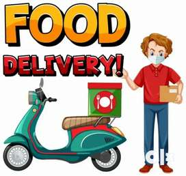 We are urgent hiring for food delivery boy //food company //bike&cycle