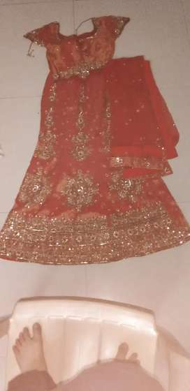 Sharara nice red colour
