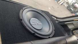 Woofer double coil
