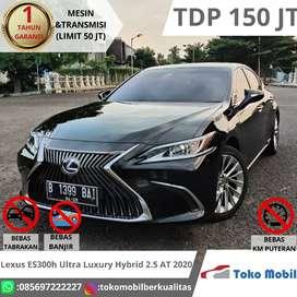 Lexus ES300h Ultra Luxury Hybrid 2.5 AT 2020 Tdp 150 jt Seperti Baru