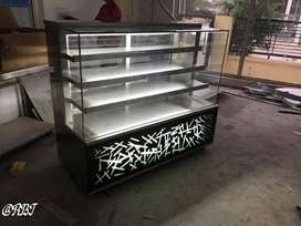 Stainless steel 5 feet display counter