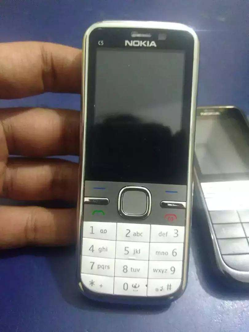 Nokia C5 Symbian Mobile PTA Approved ,New Box Pack || cash on Delivery 0