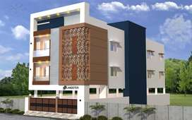 2 BHK luxurious flat for sale in Medavakkam@37L onwards