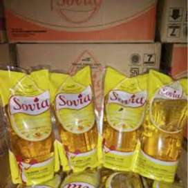 Minyak goreng Sovia 1 Liter