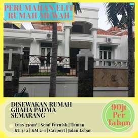 Disewakan Rumah Mewah di Graha Padma Semarang