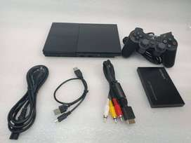 PS2 160GB COMPLETE 60 GAME WITH ALL NEW ACCESSRIES WITH 1 MONTH WARRAN
