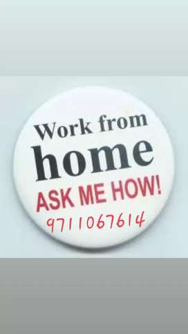 Required 120 male or female candidate work from home,