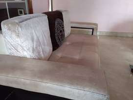 Sofa 3 seat and 2seats, artificial leather 5yr old