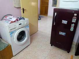 Washing machine fridge good condition