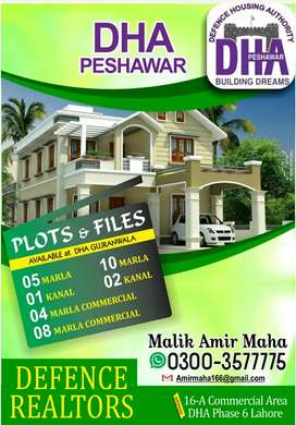 DHA Peshawar 4 Marla New Ballot Commercial File available!