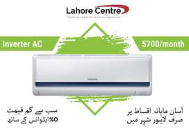 Inverter/Split AC 1/1.5 TON AC on installments