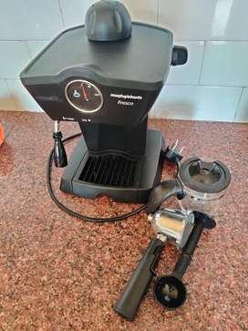 Amazing Morphy Richards Coffee Maker with 2 yrs warranty Fresco
