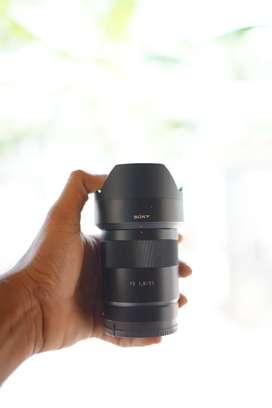 Sony 55 1.8 FE lens for sale