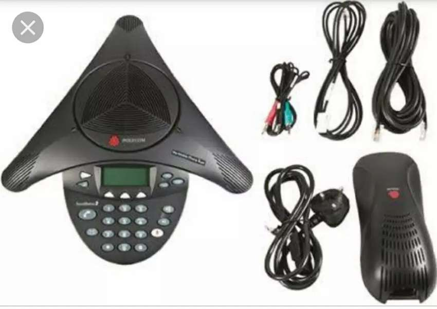 Polycom SoundStation 2 Conference Phone with Display 0