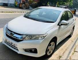 Honda City Diesel V New Metalic Orchid Pearl White Showroom painted