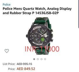 Brand New  Police Original Mens quartz Watch