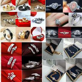 Cincin Gelang bandung gratis box gratis ukir nama cincin nikah couple