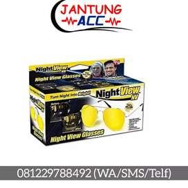 Kacamata Malam Anti Radiasi Sinar Night View kuning OKE