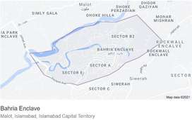 Buy A Residential Plot Of 4  Kanal In Bahria Enclave - Sector A